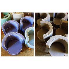 Πολυθρόνες MAORI για εξοπλιςμο επαγγελματικού  project. Επιλέξτε τα υφάσματα που ταιριάζουν στον δικο σας χώρο #thedesigngroup #furniture #contract #contractfurniture #home #homefurniture #chair #armchair #seating #decoration #interiors #design #interiordesign #fabric #wood #custommade #madeingreece #greekproduction #showroom #factory #kaloterakis #rethymno #athens