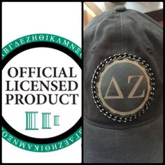 A personal favorite from my Etsy shop https://www.etsy.com/listing/224860567/sorority-adjustable-cap-with-custom
