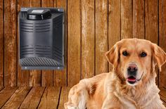 Dog house air conditioner and heater : Install the ClimateRight for your pet and you will have a Dog house air conditioner and heater through a single appliance! Further if you are searching for a dog house, we have a huge list at securepets. Dog Training Methods, Basic Dog Training, Dog Training Techniques, Training Dogs, Heated Dog House, Dog House Heater, Metal Dog Kennel, Dog Kennel Cover, Dog House Air Conditioner