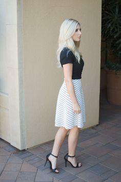 Black & White ~ Bay Area Blonde