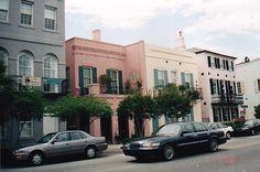 Rainbow Row, Charleston SC
