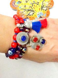 SALEGYPSY  KUCHI bracelet  belly dance bracelet middle by Nezihe1