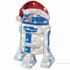 BLOG DOS BRINQUEDOS: Star Wars R2-D2 Tinsel Decoration