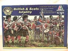 Italeri Napoleonic Wars - British and Scots Infantry Scale 1/72 6058