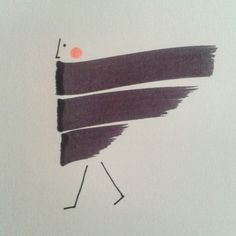 Ink sketch by Elena Losada