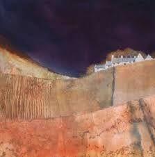 john blockley artist - Google Search Watercolor Artists, Watercolor Techniques, Drawing Techniques, Watercolor Paintings, Watercolors, Pastel Landscape, Abstract Landscape, Landscape Paintings, Art N Craft