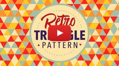 In today's Adobe Illustrator video tutorial we're going to use Illustrator's powerful vector tools to make a retro style triangle pattern, which seamlessly repeats a series of randomly coloured shapes to cover an infinite area. Being vector artwork means the result is crisp and sharp, and can even be resized and re-coloured to suit different …