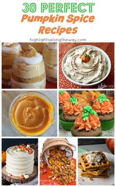 Easy Pumpkin Spice Recipes for Fall and Halloween parties. Pumpkin Recipes, Fall Recipes, Whole Food Recipes, Vegan Recipes, Dessert Recipes, Desserts, Best Pumpkin, Pumpkin Spice, Yummy Eats