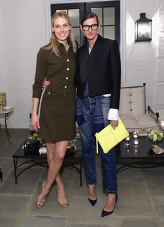 Selby Drummond and Jenna Lyons CFDA/Vogue Fashion Fund cocktail party in LA