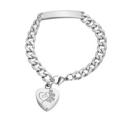 VALYRIA Memorial Jewelry 'Always in my heart' Keepsake Urn Cremation cat Ashes Bracelet with Engraving >>> Wow! I love this. Check it out now! (This is an amazon affiliate link. I may earn commission from it)