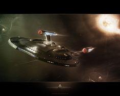Star Trek HD Wallpaper | Enterprise-Modell von Kenny_Z / Texturen, Beleuchtung, Effekte sowie ...