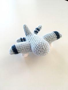 Virkat Flygplan - Gratis Mönster Dinosaur Stuffed Animal, Crochet, Kids, Animals, Young Children, Boys, Animales, Animaux, Ganchillo