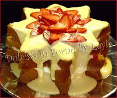 La stella di pandoro con crema di mascarpone e fragole è un dolce per le feste, semplice, veloce, goloso e dall'aspetto molto invitante.