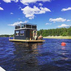 Eld & vågor- Bastu till sjöss @eldvagor Instagram photos | Websta