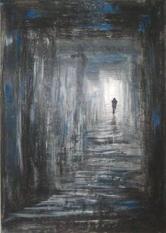 "Saatchi Art Artist Maryam Savoji; Painting, ""Steps Towards Love"" #art"