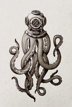 The Magical Alphabet!! O- Octopus Cult's Grand Ceremonial Helmet ...
