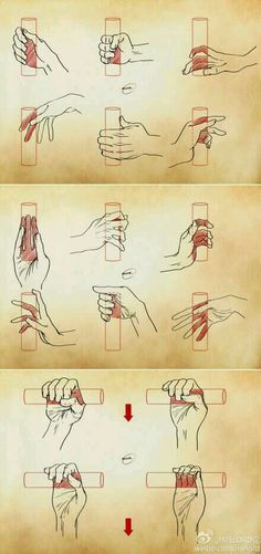 Sketch a hand holding