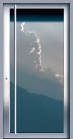 Porte d'entrée battante / en acier inoxydable / vitrée PRIVILEG PLUS 210 Auroport GmbH