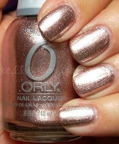Orly Rage. One of my favorite polishes and colors!
