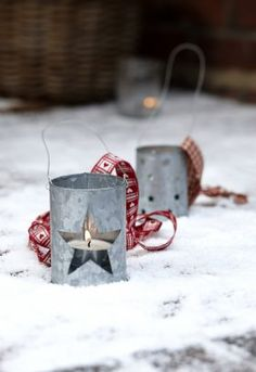 Tch014 Big Star & Little Star Hanging Zinc Lanterns £2.49 Each  from The Contemporary Home