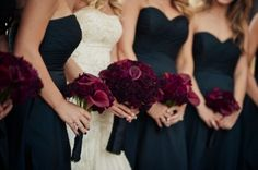 burgandy and navy blue wedding - Google Search