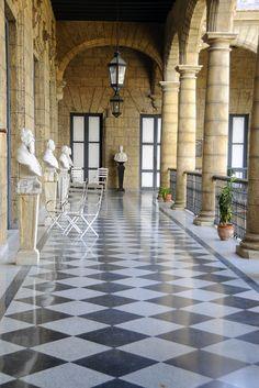Museo de la Ciudad located in the old El Palacio de los Capitanes Generales, Havana