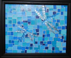 mosaic paint chip art