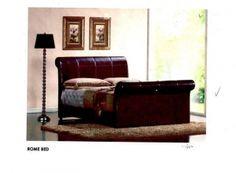 精美的床架, 舒服的臥室,讓奔波在外一天的人回到家整個就放鬆了~