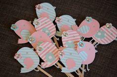 Little Bird Banner, Baby Shower, Birthday, Party, Decorations, Nursery
