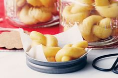 calabrian love knot cookies knot cookies calabrian love knots itailan ...