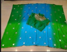 Beautiful Designer sarees With Mirror Work Blouse | Buy Designer Sarees…