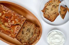 This quick and easy recipe for Greek Yogurt Banana Bread is extra-moist and loaded with your choice of nuts or chocolate chips.