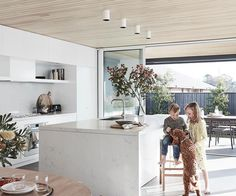 [New] The 10 Best Home Decor Today (with Pictures) - interior Landmark home project: Australian House & Garden and Mirvac My Ideal Home, Ideal House, Concrete Look Tile, Concrete Floor, Kitchen Decor, Kitchen Design, Australia House, Multipurpose Room, Home Office Furniture