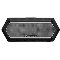 Soundcast VG1 Premium Bluetooth Waterproof Speaker Shock Resistant Dynamic  Full Range Bass Stereo Pair Works with 7a3b3e4cb648