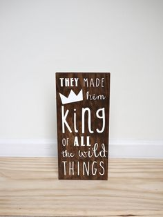 Where The Wild Things Are Baby Party King Of All The by HandyGerl