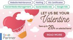 Save money on and Website Maintenance, Social Media Ad, Google Ads, Corporate Branding, Online Advertising, Company Profile, Design Development, Web Design, Let It Be