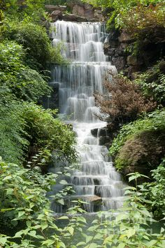 Waterfall In Hangzhou China Fine Art Photography http://rob-huntley.artistwebsites.com © Rob Huntley