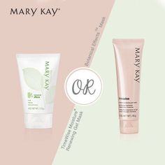 Gently remove impurities in your skin and get healthier, revitalized skin with Mary Kay Botanical Effects Mask or TimeWise Moisture Renewing Gel Mask! https://www.marykay.com/LaShon