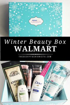 Winter 2017 Walmart Beauty Box // The Geeky Fashionista