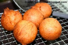 Delicious traditional Samoan pancake are deep fried, not grilled. Serve with butter and jam for a breakfast treat!