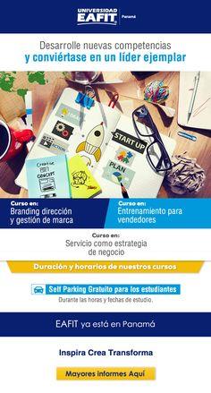 #NOVOCLICK esta con #EAFIT Panamá #Cursos disponibles