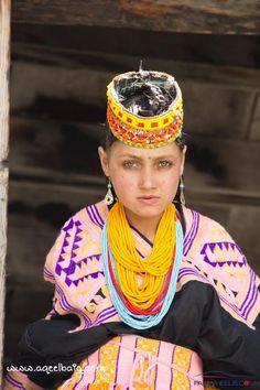 Young Kalash girl, Pakistan