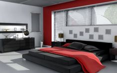 Bedrooms – 34 Stylish Ideas With White Red Wall Lamp Wallpaper Bed Image details Width: 554px, Heigth: 405px, File size: 40283Byte, File type: image/jpeg R