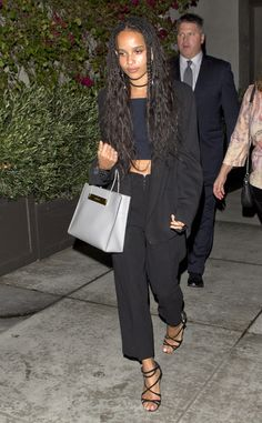 Steal Her Style: Zoe Kravitz Lenny Kravitz, Zoe Kravitz Style, Zoe Kravitz Tattoos, Zoe Kravitz Braids, New York Fashion, Boho Fashion, Winter Fashion, Fashion Outfits, Zoe Saldana