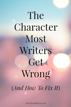 Here's an incredible tool for writers. The Myers-Briggs Type Indicator (MBTI) is a personality tool that savvy writers use to create deeply complex and startlingly realistic characters.