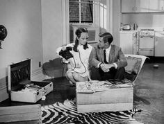 Holly and Paul (Audrey Hepburn and George Peppard) - Breakfast at Tiffany's