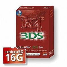R4i-SDHC 3DS + 16GB Micro SDHC Card for 3DS、R4i-SDHC, Kingston 16GB --card-3ds.com