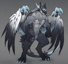 """Dark Dragon Form- """"Power Absolute""""  (colors are off, but appearance most accurate)"""