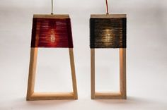Nul and Nul 5° lamps - KONTO | FOKUS ESTUDIO