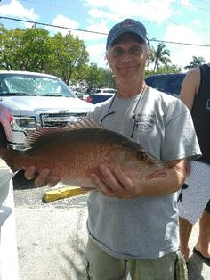 Nice mangrove snapper caught on our drift fishing trip aboard the Catch My Drift. Let's go fishing! www.FishHeadquart...